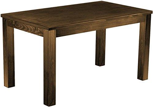 Brasilmoebel Esstisch Rio Classico 140 x 80 cm - Pinie Massivholz Brasilmöbel Eiche antik - in 27 Größen und 50 Farben - über 1000 Varianten -...