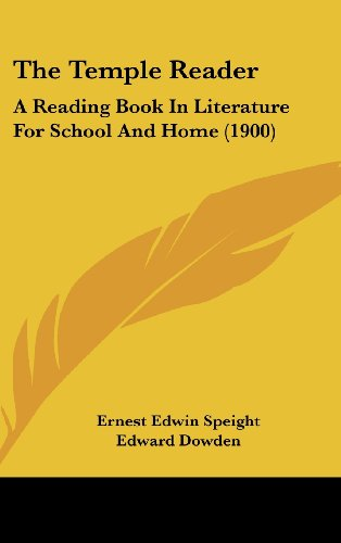 The Temple Reader: A Reading Book in Literature for School and Home (1900)