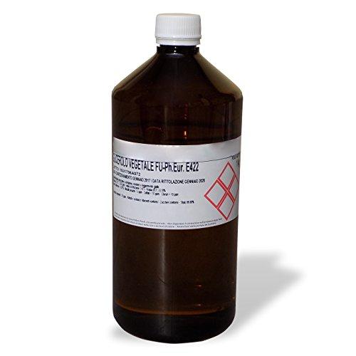 GLICEROLO VEGETALE F.U. PURO FARMACEUTICO flacone 1 Kg - GLICERINA PURA LIQUIDA