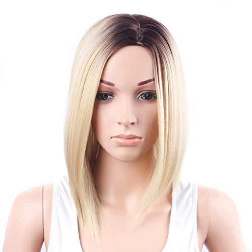 Wokee Blonde Gold Haar Perücke 33cm (+/- 3cm) -