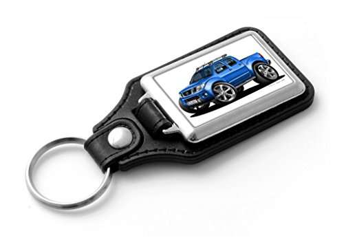 wickedartz-cartoon-car-nissan-navara-pick-up-blue-classic-style-key-ring