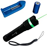 #5: Kairos LT-HJA83 532nm Zoomable Green Laser Pointer Suit 5mw 1x16340