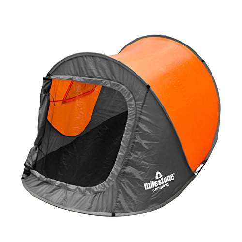 Milestone-Camping-Two-Person-Pop-Up-Tent-Orange