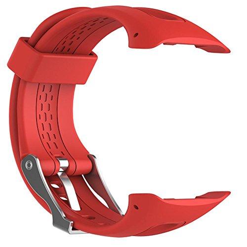 sunneey bracciale orologio garmin forerunner 1015gps in corso di esecuzione orologio, orologio sportivo cinturino di ricambio in silicone, piccolo/grande degli strumenti