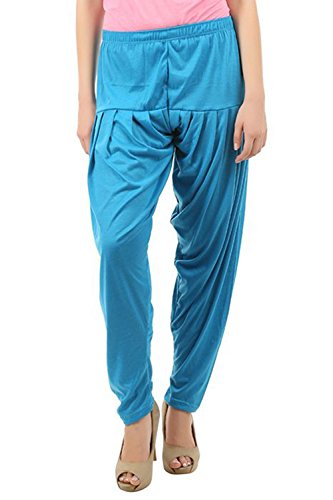 Buy That Trendz Women's Cotton Viscose Lycra Dhoti Patiyala Salwar Harem Bottoms...