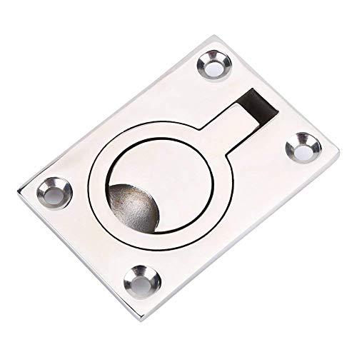 Zuggriff mit Ring aus Edelstahl, dient zum Beispiel als Türöffner für Schränke, ideal für Boote und Yachten