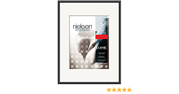 NIELSEN Pearl 50x70 cm Frosted Silver Picture Frame