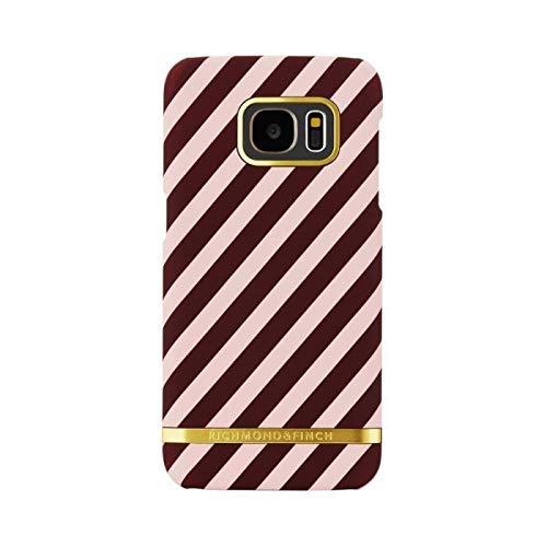 RICHMOND & FINCH Coque Berry Stripes pour Samsung Galaxy S7 Edge