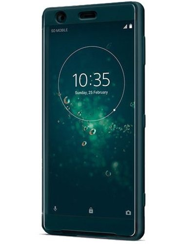 Image of Sony STYLE COVER TOUCH (XPERIA XZ2 GREEN), 1312-4633 (XZ2 GREEN))