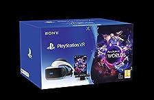 Playstation 4 - PS VR Mk4 + Camera + Gioco VR Worlds (Voucher) - Bundle Fisico