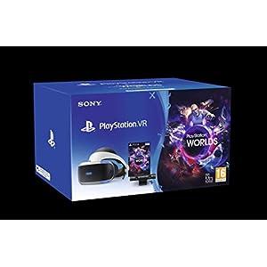 Playstation 4 – PS VR Mk4 + Camera + Spiel VR Worlds (Voucher) – Bundle