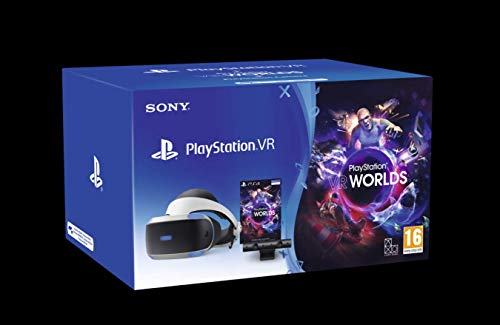 PlayStation VR MK4 + PS Camera + VR Worlds