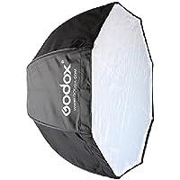 Andoer Godox Portable Octagon Softbox 80cm / 31.5in parapluie Brolly Réflecteur pour flash