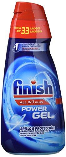 Finish Todo 1 Plus Lavavajillas Gel Regular - 35 dosis