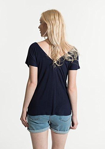 Smash! Damen T-Shirt Kansa Blau (Navy)