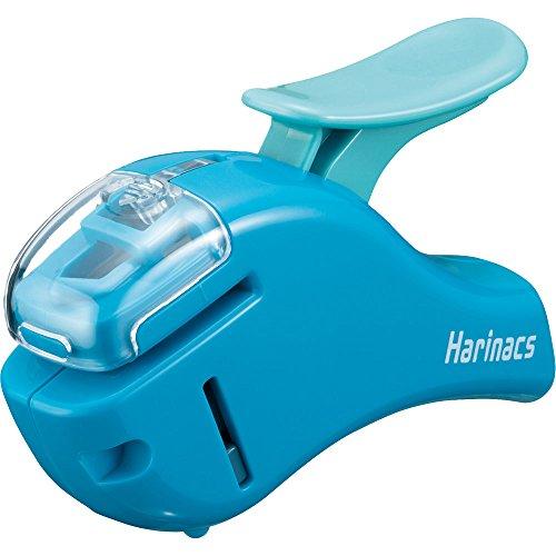 Kokuyo agrafage agrafeuse Harinacs Compact Alpha, Bleu...