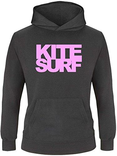 EZYshirt® Kitesurf Kinder Hoodie Kapuzenpullover