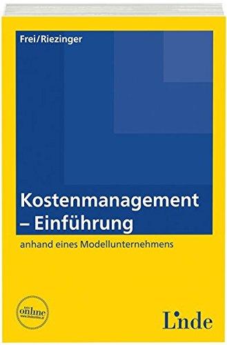 Kostenmanagement - Einführung (Linde Lehrbuch)