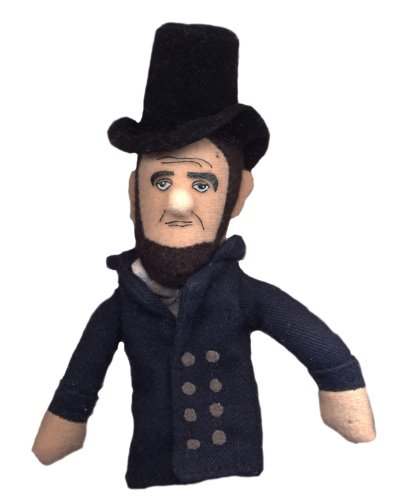 sophers Guild Abraham Lincoln Finger Puppet and Refrigerator Magnet - for Kids and Adults ()