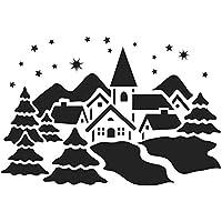 Suchergebnis Auf Amazonde Für Schneespray Schablonen Küche