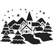 Suchergebnis Auf Amazonde Für Schablonen Weihnachten Fenster