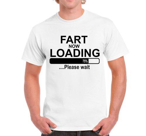 Alte Furz Lustig T-shirt (herren t-shirt Fart Loading lustige shirts fun shirt Furz Loading Mens Funny T shirts)