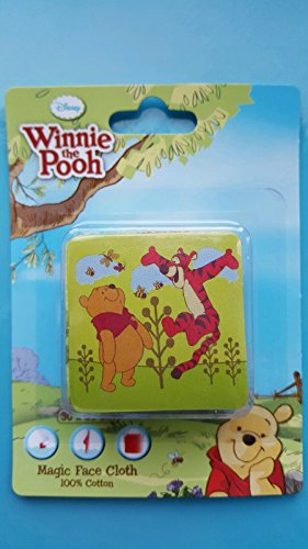 disney winnie the pooh and tigger magic face cloth expends by Disney