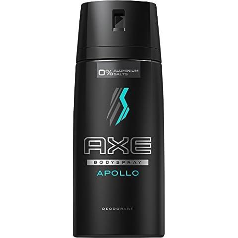 Axe Apollo - Desodorante, Pack de 3 (3 x 150 ml)