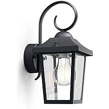 Philips Buzzard Lampada da Parete, Illuminazione Esterno per Giardino, 1 x 60 W