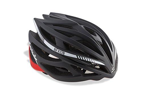 Spiuk Nexion - Unisex-Helm, Farbe Rot / Schwarz, Größe 53-61