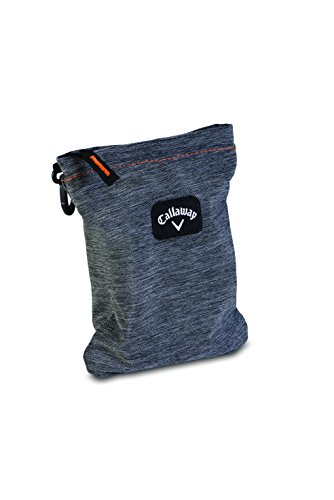 Callaway Golf 2015 Clubhouse Valuables Pouch Travel Bag 5916106 - Charcoal