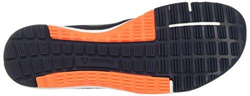 Reebok - Bd5125, Scarpe sportive Uomo Blu (Collegiate Navy / Wild Orange / White / Pewter)