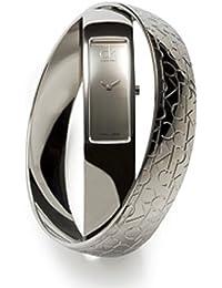 Calvin Klein K5023416 - Reloj de mujer de cuarzo, correa de acero inoxidable color plata