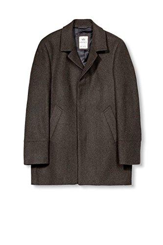 ESPRIT Collection Herren Mantel Grün (dark Khaki 355)