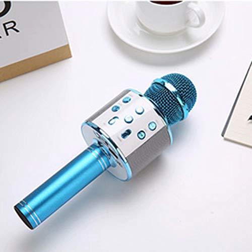 GL-Musical instrument Drahtloses Mikrofon Karaoke, tragbarer Karaoke-Player-Lautsprecher für Apple iPhone Android Smartphone oder PC, Home-KTV-Party im Freien