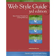 Web Style Guide – Basic Design Principles for Creating Web Sites 3e