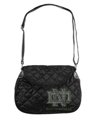 ncaa-north-dakota-sport-noir-quilted-saddlebag-purse-black-by-littlearth