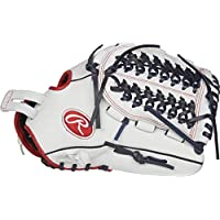 "Rawlings Liberty Advanced 12.5"" Fastpitch Softball Guante: RLA125FS, White