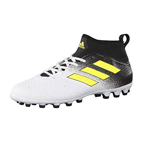 adidas Ace 17.3 Ag, Scarpe da Calcio Uomo Multicolore (Footwear White/solar Yellow/core Black)