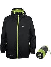 Trespass Qikpac Jacket Kompakt Zusammenrollbare wasserdichte Regenjacke