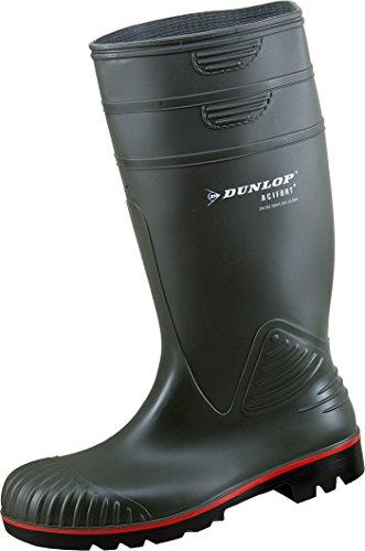 Dunlop Acifort ,Gummistiefel,Regenstiefel,Arbeitsstiefel,Freizeitstiefel (43, oliv)