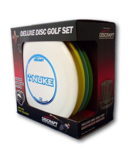 Discraft Deluxe Disc Golf Set (4Disc und Tasche) Modelle und Kunststoff fügt kann variieren -