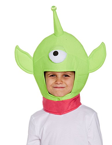 Jungen Mädchen Einäugiger Monsterhut für Kinder Spielzeug Außerirdisches Märchenbuch - Toy Story Aliens Kostüm