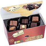 Assortiment de chocolats lait, noir Bio/Fairtrade Chevaliers d'Argouges 184g