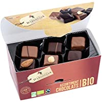 Assortiment de chocolats lait, noir Bio/Fairtrade Chevaliers d'Argouges 184g