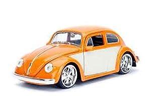 Jada Toys-Coche en Miniatura de colección, 99019o/W, Naranja/Blanco