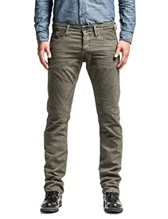 replay herren skinny jeanshose waitom gr w38 l34 herstellergr e 38 grau dark warm grey. Black Bedroom Furniture Sets. Home Design Ideas