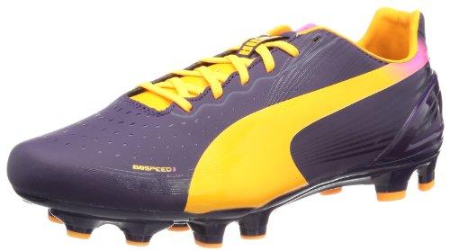 Puma Evospeed 3 2 Fg, Chaussures de football homme Violet - Violett (blackberry cordial-fluo orange-fluo pink 02)