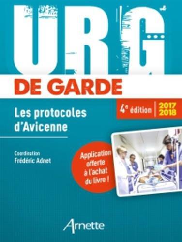 Urg' de garde 2017-2018: Les protocoles d'Avicenne
