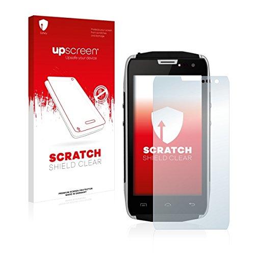 upscreen Scratch Shield Clear Displayschutz Schutzfolie für Doogee Titans2 DG700 (hochtransparent, hoher Kratzschutz)